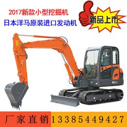 山鼎65履带小型挖掘机 农用小型抓木机