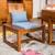 东莞展博家具茶椅新中式白蜡木纯实木批发ZB-10缩略图1