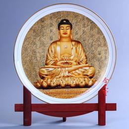 陶瓷圆盘摆件定制厂家