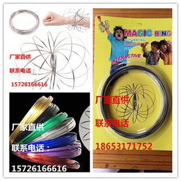 厂家现货批发流体不锈钢编制手环---新型魔术手环
