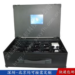 8.4寸工业便携机机箱定制外壳加固笔记本便携式数据采集工作站
