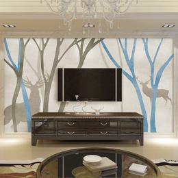 北欧风油画挂画风水装饰画玄关壁画现代简约餐厅壁画