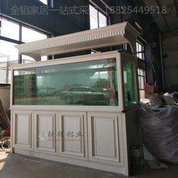 厂家供应热销款铝合金家具 户外展厅全铝鱼缸铝型材定制