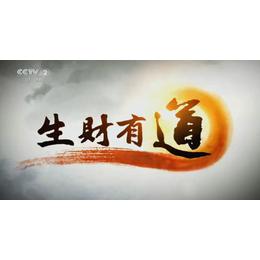 19年CCTV-2央视财经频道投放生财有道栏目广告价格是多少