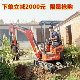 湖南地区小区建设1.5吨履带小型挖掘机 多种型号够你选择