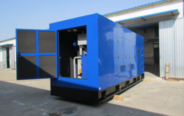 宁夏300KW生活垃圾填埋场气体发电站 垃圾填埋气利用发电