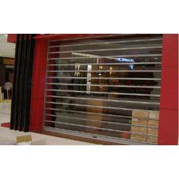 天津红桥区卷帘门安装 天津定制商场水晶卷帘门精美设计