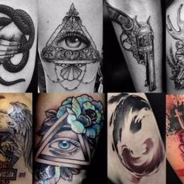 刺青   惊蛰纹身