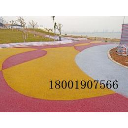 广西省透水地坪价格透水地坪厂家透水地坪材料长期供应