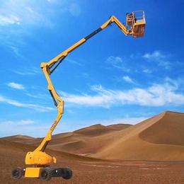 14米曲臂升降机 折臂伸缩臂升降车报价 液压升降平台制造