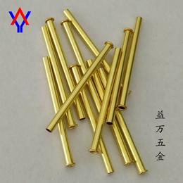 厂家直销售 电子配件铜铆钉 断路器管状铆钉 加长拼装铆钉
