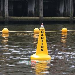 海域警示航标水域区域警示航标