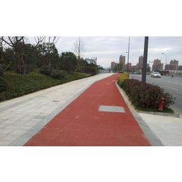 江西宜春路面改色喷涂剂打造彩色景观路面毫不费劲缩略图