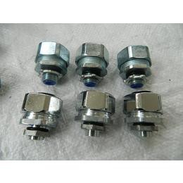 外丝接头FSS-I双扣不锈钢金属软管接头厂家