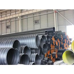 洛阳钢带增强双壁波纹管厂家 增强型钢带波纹管