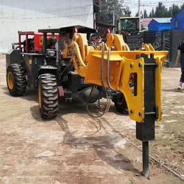 矿井钻孔机  矿用铲车带炮头 一机两用铲车L