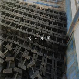 铜川市25公斤配重块 M1级100kg50kg铸铁砝码