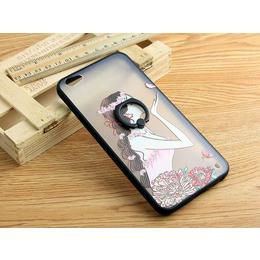 供应厂家直销tpu+pc二合一带指环手机壳