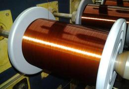 江苏聚酯亚胺漆包铜线 180级聚酯亚胺漆包扁铜线