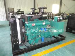 潍坊6105柴油机用来配套120发电机组成120KW发电机组