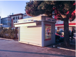 活动报刊亭 海南邮政报刊亭款式设计 社区售货亭款式图片