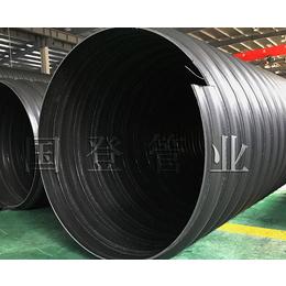 滁州钢带波纹管-安徽国登-经久耐用-pe钢带波纹管厂家