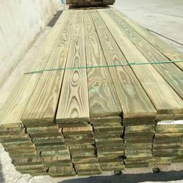 厂家专业提供南方松户外防腐木