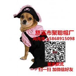 宠物猫咪帽子价格宠物狗帽子批发价格宠物猫咪帽子定做聚聪帽厂缩略图