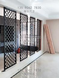 不锈钢屏风效果图 新中式不锈钢屏风 厂家定制