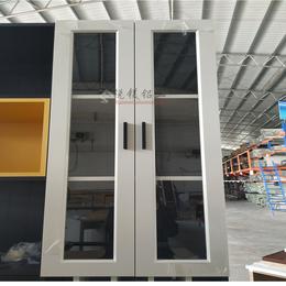 现货简约白橡木全铝梳妆台柜家具定制 锐镁直销地中海全铝电视柜