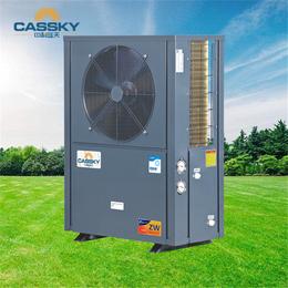 煤改电项目3匹商用空气源热泵泳池恒温热泵机组超低温冷暖机组