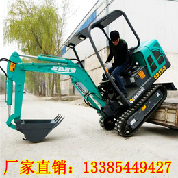 土方回填用履带式微型挖掘机15小型挖机