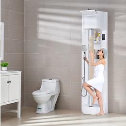 合瑞创新梦工厂新型智能搓澡机360度转智能搓澡洗出美丽无死角