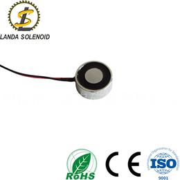 圆形吸盘式电磁铁 H2510直流电磁铁防水