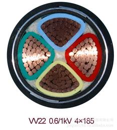 供应宁夏地区 低压铝芯电力电缆库存YJLV22 库存批发