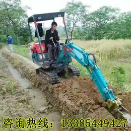 销售园林农用挖掘机 施工路面小型挖掘机