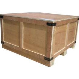 生产惠民可拆卸木箱 阳信扣件包装箱送 无棣出口熏蒸木箱标准