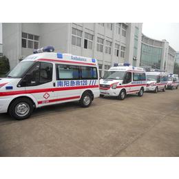 福特全顺V348短轴转运型救护车报价 13277607831