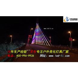 市政工程桥梁亮化工程设计-灵创照明