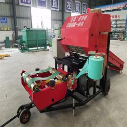 牧草打捆包膜机-江西打捆包膜机-新圣泰机械(查看)