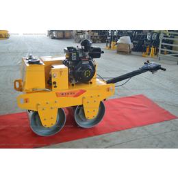 厂家直销手扶双钢轮压路机震动压实机柴油汽油回填土地下室草坪