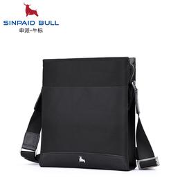 申派bull男士斜挎包单肩包包商务休闲单肩包男斜挎包