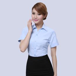 天河区办公室衬衫定制石牌桥商务衬衫量身定做定做白领衬衫厂家缩略图