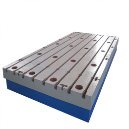 精密铸铁检验平板 铸铁钳工平板划线平板型号齐全 沧州华威厂家