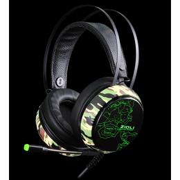 磁动力ZH12吃鸡 耳机专用游戏发光 抗暴头戴式耳机