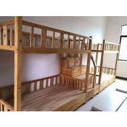 实木连体双层组合床厂家生产缩略图