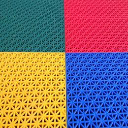 安徽幼儿园室外悬浮地板防滑悬浮式拼装地板户外塑料运动地板