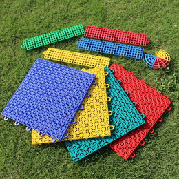 悬浮式拼装地板悬浮地板幼儿园室外篮球场拼接地板