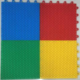 软连接悬浮地板 户外塑料运动地板 幼儿园拼接地板环保