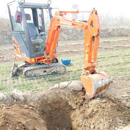 果园绿化小挖掘机国产履带式挖掘机